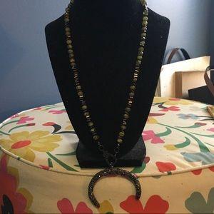 ONE OF A KIND pave diamond necklace